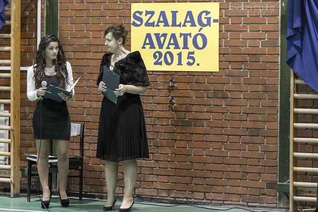 FotóRiport: Aranykéz Középiskola Szalagavató 2015. Székesfehérvár