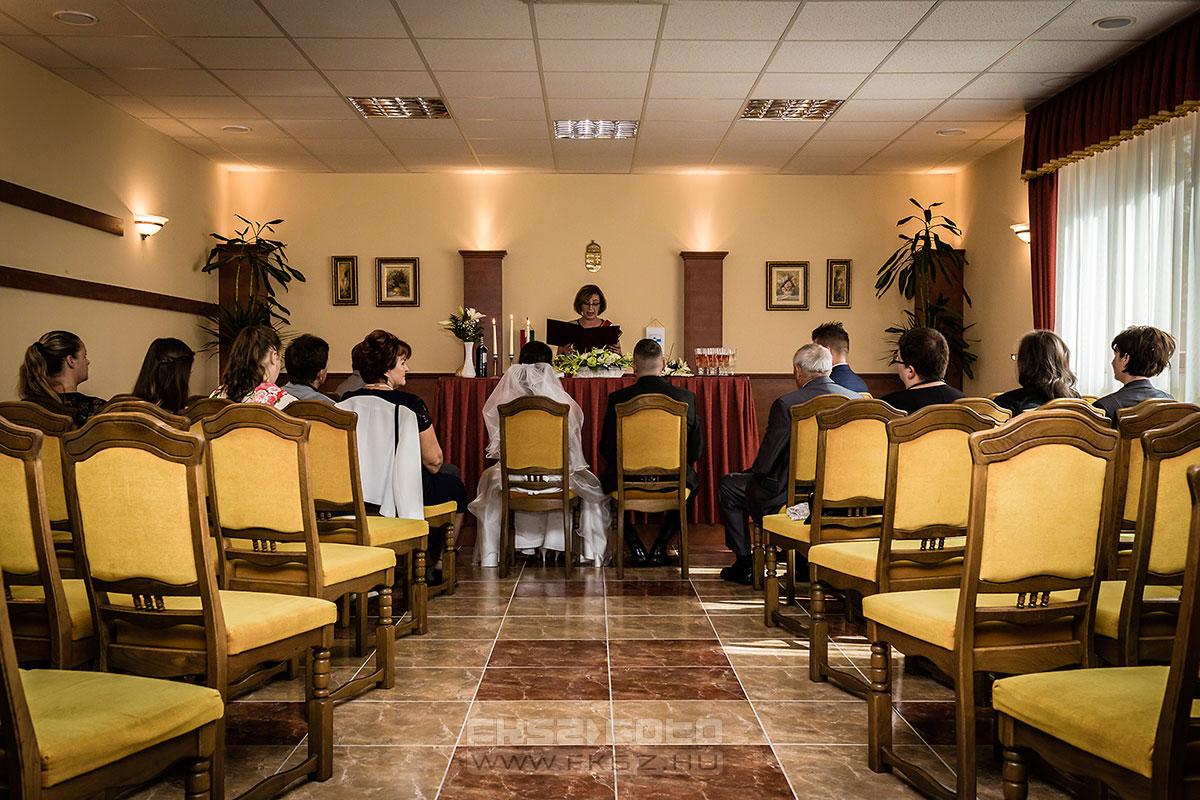 Bodajk 2015. - Esküvői szertartás riportfotózása