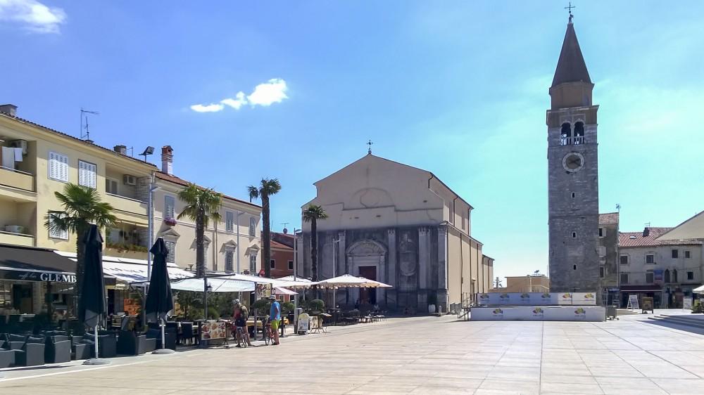 Umag belváros (Mobillal készített kép)